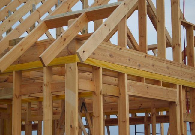 Как построить крышу каркасного дома своими руками 32